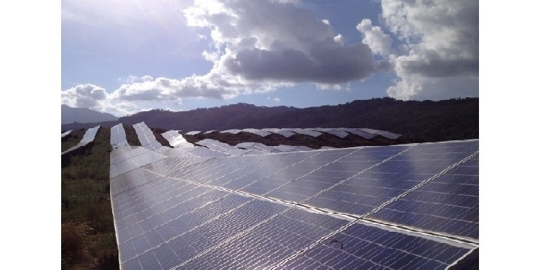 10.07.2013 - Corsica: Strong performance of PV-plant compensates unstable weather